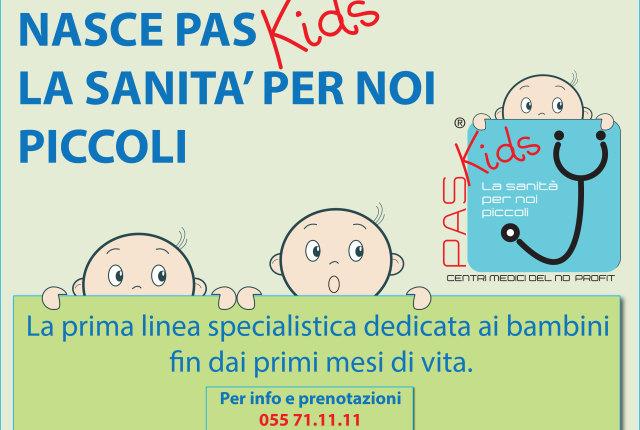 Pas Kids, la sanità per i più piccoli