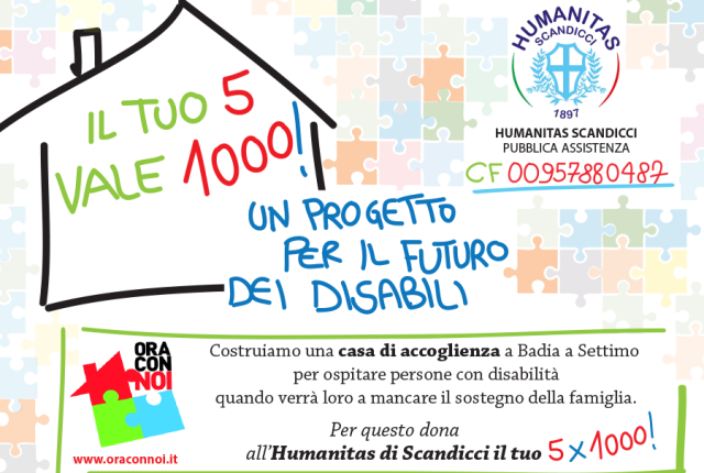 5×1000 all'Humanitas Scandicci