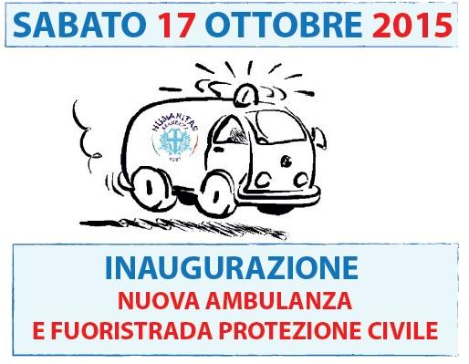 Inaugurazione Nuova Ambulanza e Fuoristrada